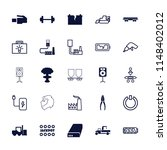 power icon. collection of 25...   Shutterstock .eps vector #1148402012