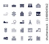 city icon. collection of 25... | Shutterstock .eps vector #1148404562