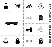 heavy icon. collection of 13...   Shutterstock .eps vector #1148404835