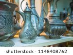 the beautiful antique tea and... | Shutterstock . vector #1148408762