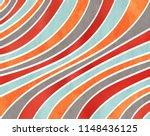 watercolor orange  blue  red... | Shutterstock . vector #1148436125