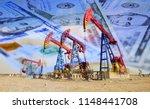 petroleum  petrodollar and...   Shutterstock . vector #1148441708