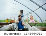 family greenery. family growing ... | Shutterstock . vector #1148444012