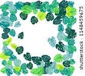 sea green tropical jungle... | Shutterstock .eps vector #1148459675
