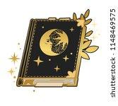 magic book. vector hand drawn...   Shutterstock .eps vector #1148469575