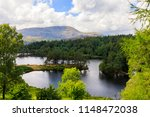 coniston water in the lake... | Shutterstock . vector #1148472038