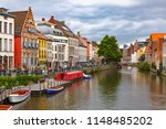 nice view of picturesque... | Shutterstock . vector #1148485202