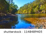yowaka river  a tributary of...   Shutterstock . vector #1148489405
