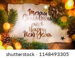 christmas and new year holidays ... | Shutterstock . vector #1148493305