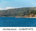 view of mountains from aegean... | Shutterstock . vector #1148497472