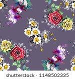 watercolor seamless pattern... | Shutterstock . vector #1148502335