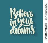 handdrawn lettering of a phrase ...   Shutterstock .eps vector #1148509322