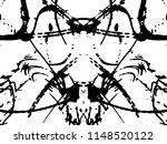 grunge black ink paint.for new... | Shutterstock .eps vector #1148520122