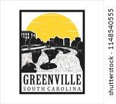 greenville south carolina   Shutterstock .eps vector #1148540555