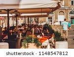 ravenna  italy   august 2  2018 ... | Shutterstock . vector #1148547812