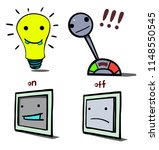 the image consists of four... | Shutterstock .eps vector #1148550545
