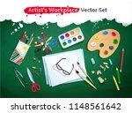 top view vector illustration... | Shutterstock .eps vector #1148561642