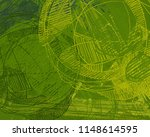 contemporary art. hand made art.... | Shutterstock . vector #1148614595