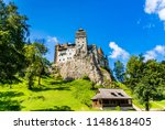 bran  romania  the bran castle  ... | Shutterstock . vector #1148618405