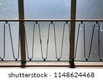 1950's railings and barrier.... | Shutterstock . vector #1148624468
