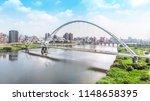 crescent bridge   landmark of... | Shutterstock . vector #1148658395