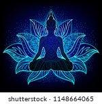 chakra concept. inner love ... | Shutterstock .eps vector #1148664065