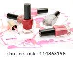 color nail polish | Shutterstock . vector #114868198