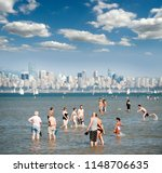 english bay   aug. 15  2010 ... | Shutterstock . vector #1148706635