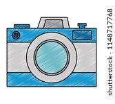 photographic camera isolated...   Shutterstock .eps vector #1148717768