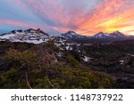 the mountains of the three... | Shutterstock . vector #1148737922