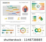 colorful statistics or planning ... | Shutterstock .eps vector #1148738885