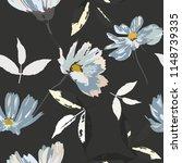 seamless floral pattern.... | Shutterstock .eps vector #1148739335