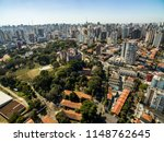 panoramic view of the buildings ... | Shutterstock . vector #1148762645