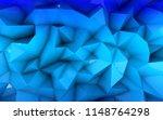 polygonal 3d background...   Shutterstock . vector #1148764298