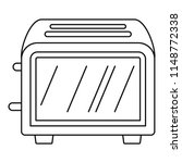 vintage toaster icon. outline... | Shutterstock .eps vector #1148772338