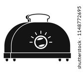 classic toaster icon. simple... | Shutterstock .eps vector #1148772695
