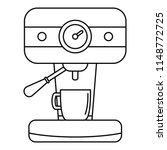 bar coffee machine icon.... | Shutterstock .eps vector #1148772725