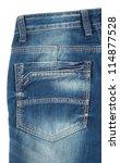 Back Pocket Of Blue Jeans...