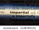 impartial word in a dictionary. ...   Shutterstock . vector #1148783132