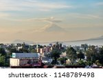 popocat petl volcano after an... | Shutterstock . vector #1148789498