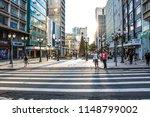 Small photo of Curitiba, Parana, Brazil, January 03, 2018. Pedestrian semaphore and zebra cros in XV of November street, ou flowers street in downtown of Curitiba
