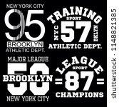 sport alhletic stock set... | Shutterstock .eps vector #1148821385