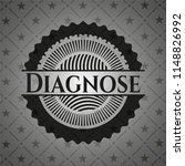 diagnose black emblem | Shutterstock .eps vector #1148826992