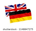national fabric flags of great... | Shutterstock . vector #1148847275