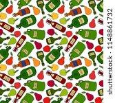 seamless endless pattern of...   Shutterstock .eps vector #1148861732