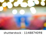 soft colorful bokeh lights... | Shutterstock . vector #1148874098