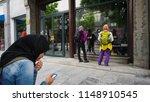 beijing  china. april 28  2018  ... | Shutterstock . vector #1148910545