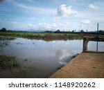 water drainage for paddy fields ... | Shutterstock . vector #1148920262