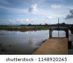 water drainage for paddy fields ... | Shutterstock . vector #1148920265