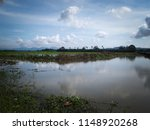 water drainage for paddy fields ... | Shutterstock . vector #1148920268